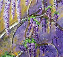 A Shower of Wisteria by Ciska