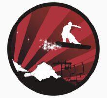 snowboard : powder trail by asyrum