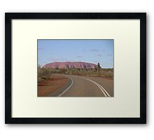 Long Way Around Framed Print