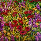 Flowers in a Field by HDPotwin