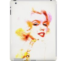 Marilyn The Pink Sketch iPad Case/Skin
