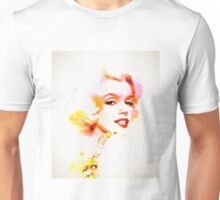 Marilyn The Pink Sketch Unisex T-Shirt