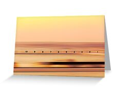 Sunrise at Merewether Baths Greeting Card