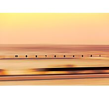 Sunrise at Merewether Baths Photographic Print