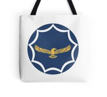 Roundel of the South African Air Force  Tote Bag