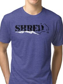 snowboard : shred Tri-blend T-Shirt