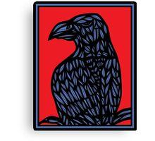 Lotts Eagle Hawk Red Blue Canvas Print