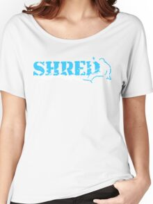 snowboard : shred Women's Relaxed Fit T-Shirt