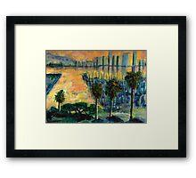 Treasure Island Sunset Framed Print