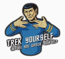 Star Trek - Trek Yourself Before You Wreck Yourself - Leonard Nimoy Tribute by Netsubu
