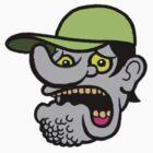 Pocket Face Series - Scared Steve by badteeth