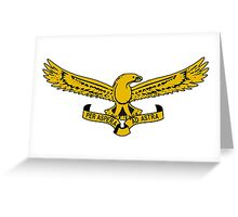 South African Air Force Emblem Greeting Card