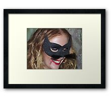 Part 3 in a series on Halloween Framed Print