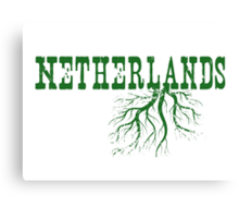 Netherlands Roots Canvas Print