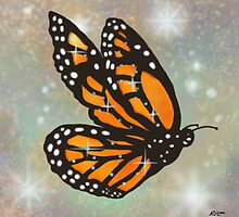 Glowing Butterfly by Audra Lemke