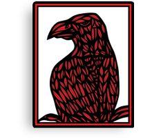 Kolb Eagle Hawk Red White Black Canvas Print