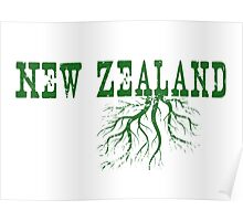 New Zealand Roots Poster