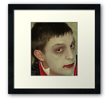 Part 6 in a series on Halloween Framed Print