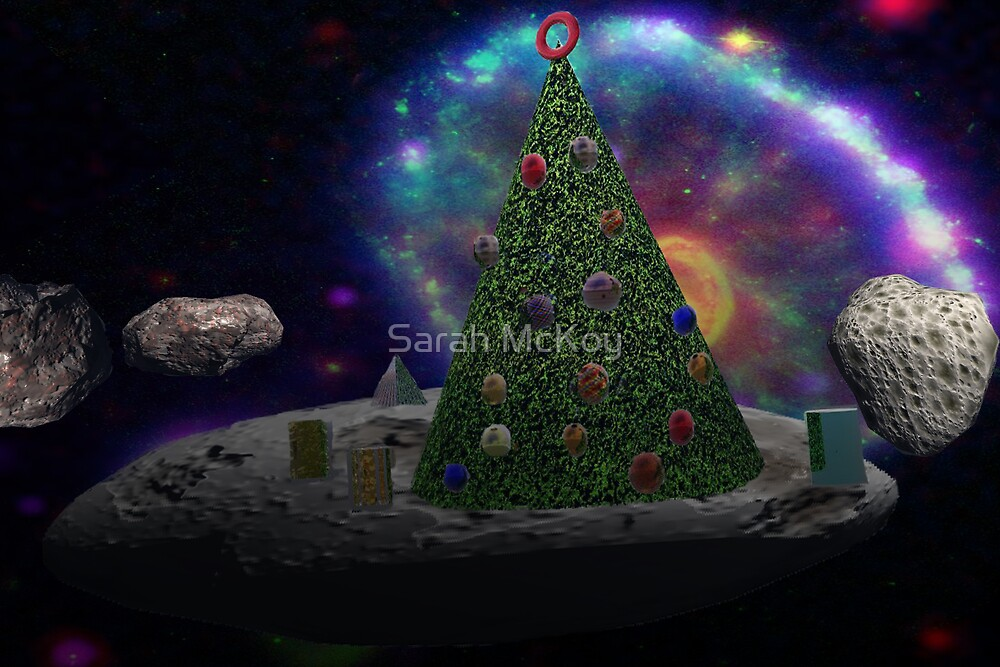 Christmas Tree Asteroid by Sarah McKoy