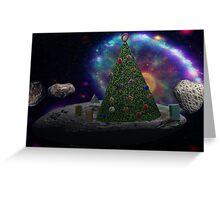 Christmas Tree Asteroid Greeting Card