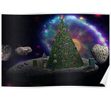 Christmas Tree Asteroid Poster
