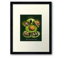 My passion, I ... Respect all lives and diversity in life Framed Print