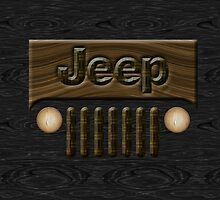Wooden Jeep Willys ~ Black [Update] by vikaze