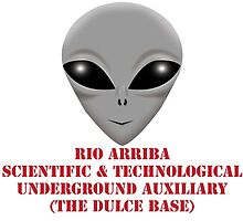 Rio Arriba Scientific & Technological Underground Auxiliary by wickedcartoons