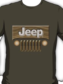 Wooden Jeep Willys [Update] T-Shirt