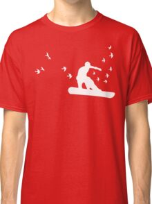 board with birds Classic T-Shirt