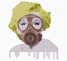Gasmask Marilyn by Melissa de Klerk
