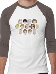 Guess Who! Men's Baseball ¾ T-Shirt