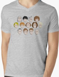 Guess Who! Mens V-Neck T-Shirt