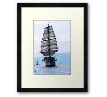 Tall ships 3 Framed Print