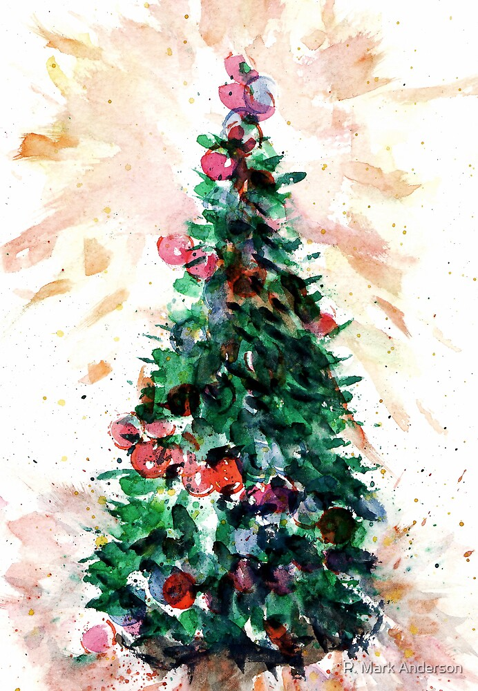 Festive Fir by P. Mark Anderson