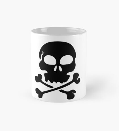 SKULL AND CROSSBONES by Zombie Ghetto Mug
