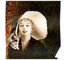 A Hat For Marilyn Poster