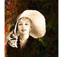 A Hat For Marilyn Photographic Print