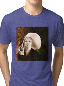 A Hat For Marilyn Tri-blend T-Shirt