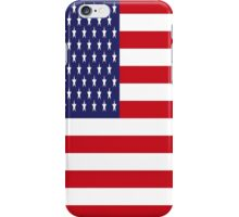 USA Flag, American Style, Stars And Stripes, Super Resolution iPhone Case/Skin