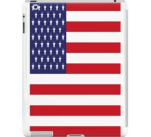 USA Flag, American Style, Stars And Stripes, Super Resolution iPad Case/Skin