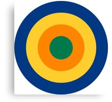 Roundel of the South African Aviation Corps, 1915-1920 Canvas Print