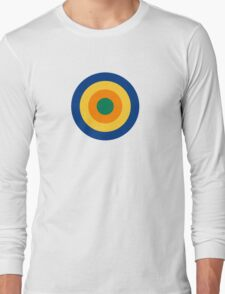 Roundel of the South African Aviation Corps, 1915-1920 Long Sleeve T-Shirt