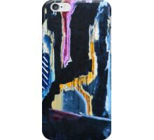 On The Footpath Out The Front Of Oxford Arts iPhone Case/Skin