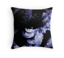 Crow and Old Lace Throw Pillow