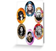 Queens of Rock Greeting Card