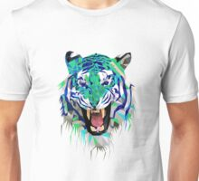 Tiger Force Teeth Face Unisex T-Shirt