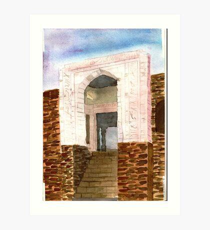 sultan ghari's tomb South Delhi , India  Art Print