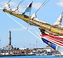 tall ships 9 by Monica Di Carlo