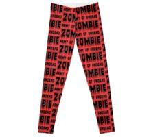 ZOMBIE ARMY OF UNDEAD by Zombie Ghetto Leggings